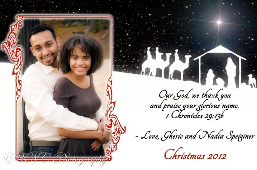Speiginer Christmas card (5x7)